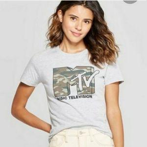 Mtv camo tshirt